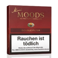 Dannemann Mini Moods Double Filter 20er