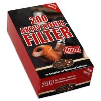 Ermuri Aktivkohle Filter 9mm 200er