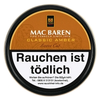 Mac Baren Classic Amber Loose Cut (Vanilla Toffee Cream) 100g