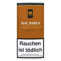 Mac Baren Classic Amber Loose Cut (Vanilla Toffee Cream) 50g