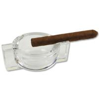 Zigarrenascher Glas (ohne Dekoration)
