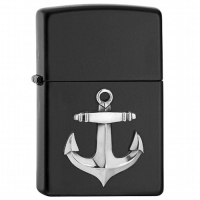 Zippo Gray Dusk Anker Mini Emblem