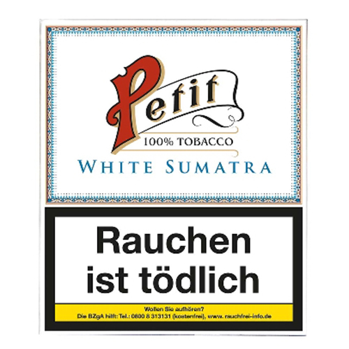Nobel Petit White (Fine) Sumatra 20er